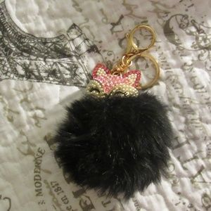 Claire's Accessories - Puffy Keychain